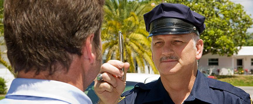 California DUI field sobriety tests